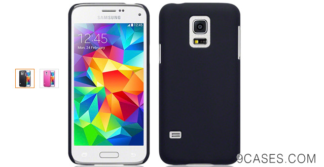 07-Samsung Galaxy S5 Mini Case, Terrapin [Extra Slim Fit] Hybrid Rubberized