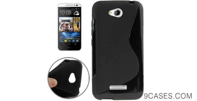 08-S Line Anti-slip Frosted TPU Case for HTC Desire 616