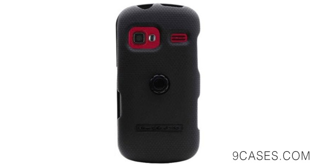 10-Body Glove Armor Snap On with ClipStand for LG Rumor Reflex 2 - Retail Packaging - Black