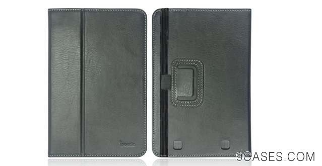 11-Poetic Slimbook Leather Case for Nook HD 7