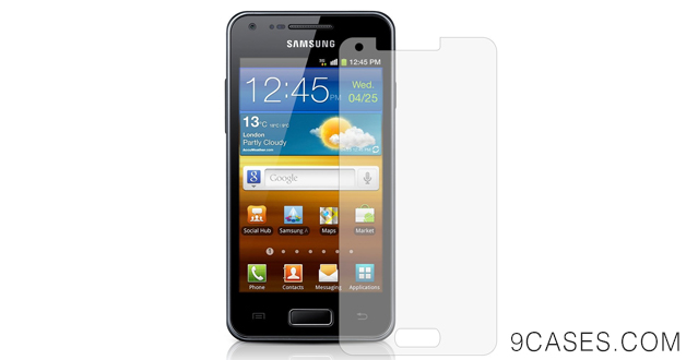 01-6 x Clear LCD Screen Protectors for Samsung i9070