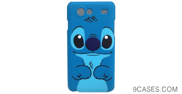 05-cute lovely Stitch & Lilo hard Case Cover For Samsung Galaxy S Advance i9070