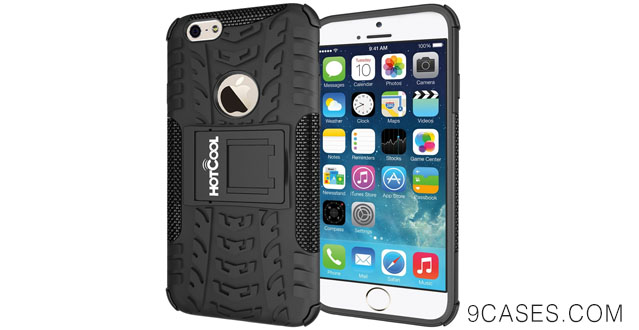 07-HOTCOOL iPhone 6 Case - Heavy Duty Rugged Dual Layer Holster