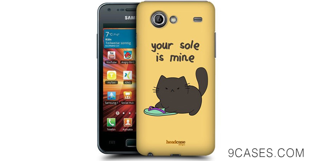 08-Head Case Designs Your Sole is Mine Ceiling Cat Vs Basement Cat Protective
