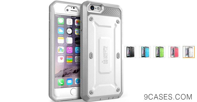 08-iPhone 6 Case, SUPCASE [Heavy Duty Belt Clip Holster] Apple iPhone 6 Case 4