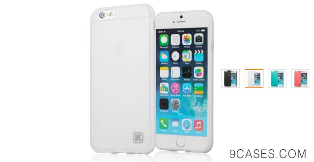 10-iPhone 6 Case - KAYSCASE Slim Soft Gel Cover Case for Apple iPhone 6,