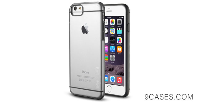 11-iPhone 6 case - INVELLOP GRAY CLEAR iPhone 6 Case