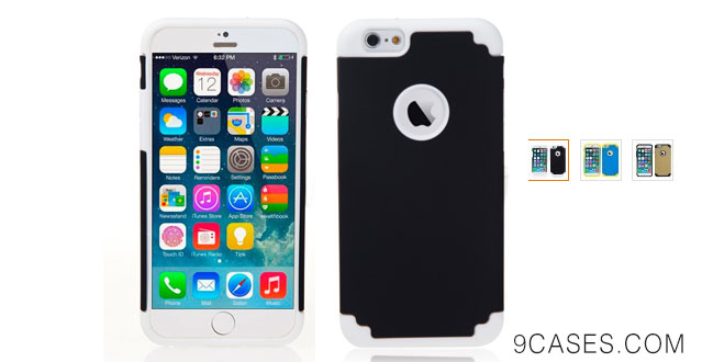 12-iPhone 6 Case - Bear Motion For iPhone 6 4.7 - Dual Protection Case for iPhone 6 with 4