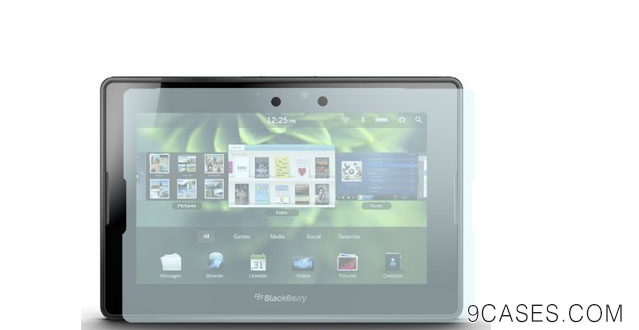 01-GreatShield Ultra Smooth Clear Screen Protector Film for RIM Blackberry Playbook Tablet (3 Pack)