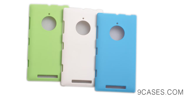 08-Einzige Slim Fit 3 in 1 Hard Skin Case Cover for Nokia Lumia 830