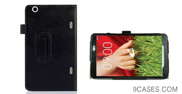 13-amtonseeshop Newly Fashion Magnetic Folio Leather Stand Case For LG G Pad 8.3