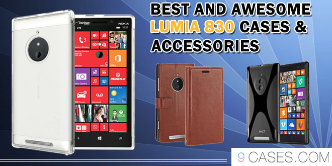Best and awesome Lumia 830 Cases & accessories