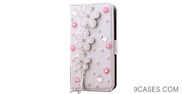 07-Wellpad Classic design bling leather