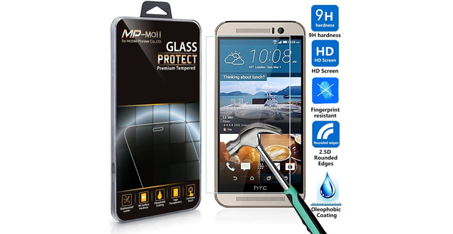 01-HTC One M9 Screen Protector