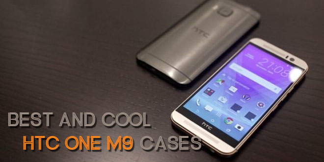 Best and cool HTC One M9 cases