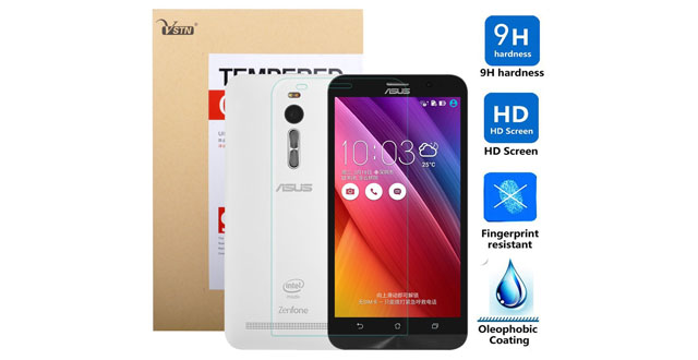 01.VSTN ® Ultra-thin 9H Hardness High Quality HD clear Premium Tempered Glass Screen Protector for ASUS zenfone 2 ZE550ML _ ZE551ML smartphone (1 pcs)