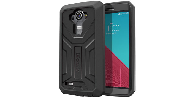 03. LG G4 Case - Poetic [Revolution Series] - [Heavy Duty] [Dual Layer] Complete Protection Hybrid Case with Built-In Screen Protector for LG G4 (2015) Black