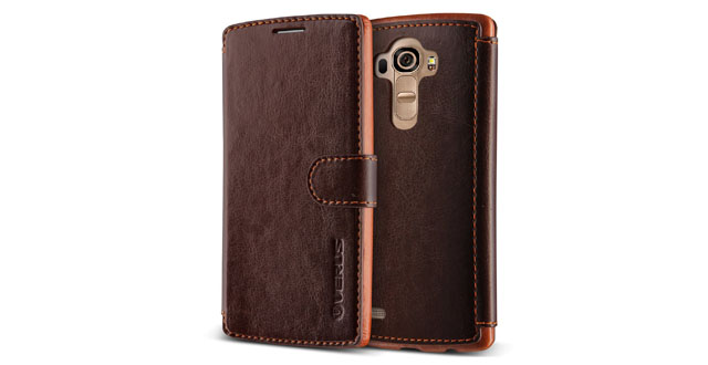 10. LG G4 Case, Verus [Special Edition] LG G4 Wallet Case [Layered Dandy Diary][Coffee Brown] Premium Two Tone Soft PU Leather Wallet Cover - Leather Case for LG G4 Early 2015 Model
