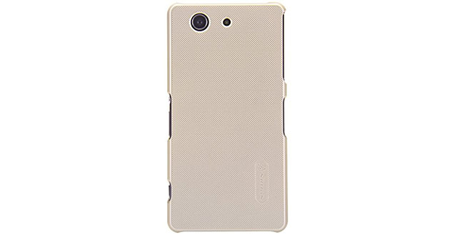 05. KuGi ® High quality ultra-thin PC Hard Case Cover for Sony Xperia M4 Aqua smartphone. (Gold)