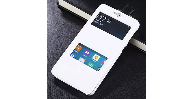 05. [Victorlan] Double Windows Leather Flip Case For HTC Desire 826 Ultra Slim Folio Leather Skin Cover
