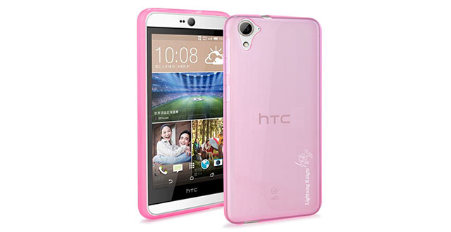 08. LK Ultra Jelly Series TPU Gel Rubber Soft Skin Silicone Protective Case Cover for HTC Desire 826