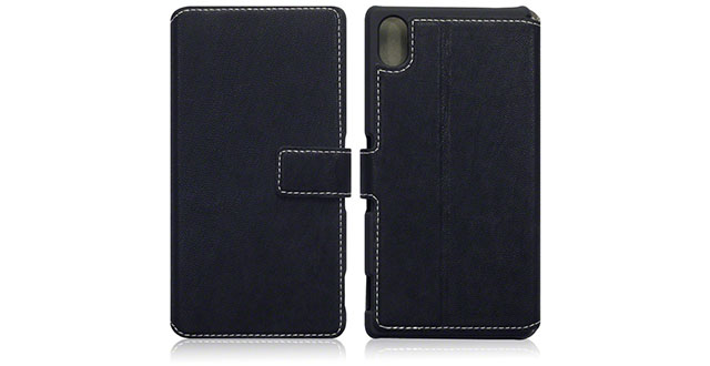 11. Terrapin Sony Xperia M4 Case Wallet [Black] Premium Wallet Case with STAND Flip Cover for Sony Xperia M4 Aqua