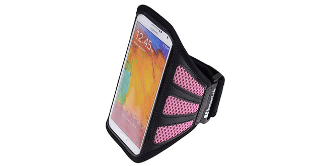 13. SumacLife Mesh Workout Armband for Sony Xperia M4 Aqua