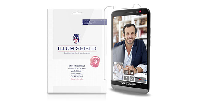 01. iLLumiShield - Blackberry Z30 Screen Protector Japanese Ultra Clear HD Film with Anti-Bubble and Anti-Fingerprint - High Quality