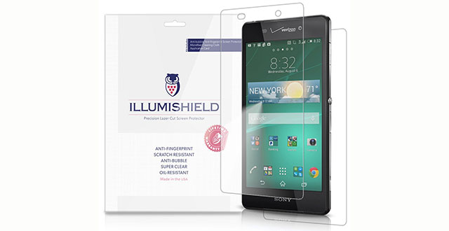 01. iLLumiShield - Sony Xperia Z3V Screen Protector Front+Back with Lifetime Replacement Warranty