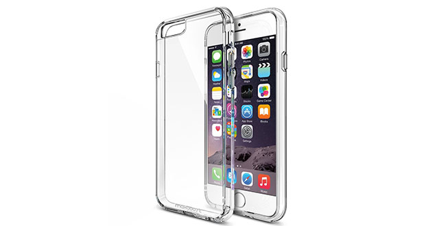 02.-Maxboost-[Clear-Cushion]-(5.5-inch)-[Lifetime-Warranty]-Seamless-integrated-Shock-Absorbing-Bumper-Clear-Back-Panel-Protective-Slim-Cover-Cases-for-Apple-iPhone-6S-Plus-(2015)