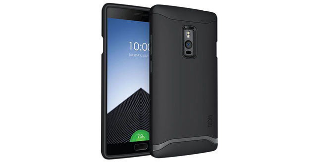 02.-TUDIA-Slim-Fit-MERGE-Dual-Layer-Protective-Case-for-OnePlus-Two-(Matte-Black)