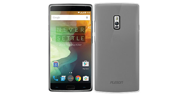 05.-PLESON-OnePlus-Two-TPU-Case---Rubber-Silicone-Gel-Transparent-Matte-Shell-Cover-Case-for-OnePlus-2