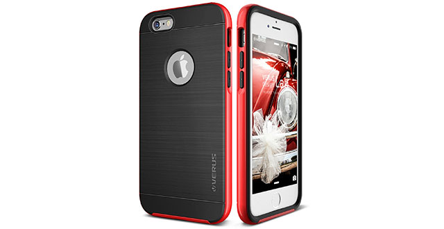 05.-Verus-[High-Pro-Shield][Red]---[Drop-Protection][Heavy-Duty][Minimalistic][Slim-Fit]---For-Apple-iPhone-6S-Plus