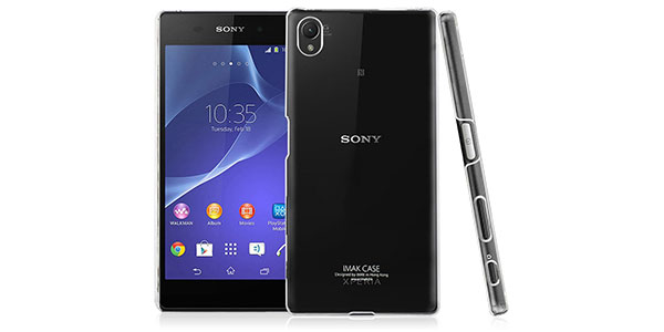 06.-3C-Aone-Transparent-Crystal-Clear-Hard-Cover-Case-Shell-Compatible-for-for-Sony-Xperia-Z5