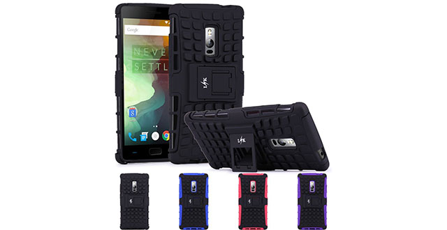 08.-LK-[Shock-Absorption]-drop-protection-Hybrid-Dual-Layer-Armor-Defender-Protective-Case-Cover-with-Kickstand-for-OnePlus-2