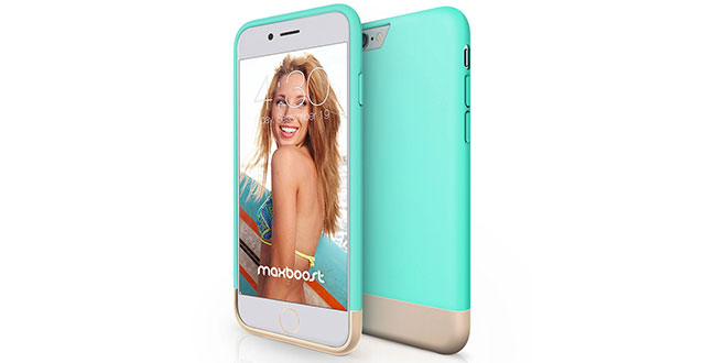 09.-Maxboost-[Vibrance-Series]-iPhone-6-Plus-(5.5)-Case-[Lifetime-Warranty]-Protective-SOFT-Interior-Scratch-Protection-Metallic-Finished-Base-with-Vibrant-Trendy-Color-Slider-Style-Hard-Cute-Cases