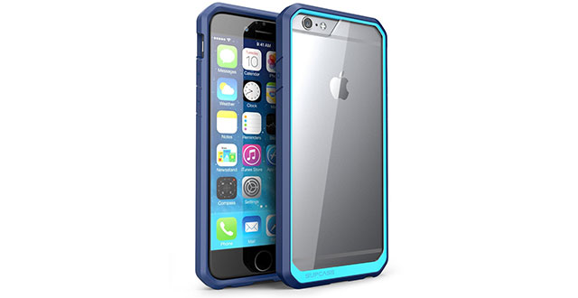 12.-SUPCASE-Also-Fit-Apple-iPhone-6-Plus-Case-[Unicorn-Beetle]-Clear-Hybrid-Protective-Bumper-Case-