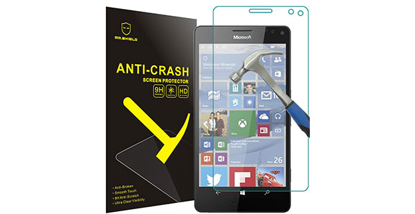 01.-Mr-Shield-For-Microsoft-Lumia-950-XL-Anti-Crash-Screen-Protector-with-Lifetime-Replacement-Warranty