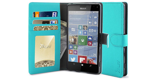 08.-Tauri-[Stand-Feature]-Wallet-Leather-Case-with-Stand,-ID-&-Credit-Card-Pockets-Flip-Cover-Protective-Case
