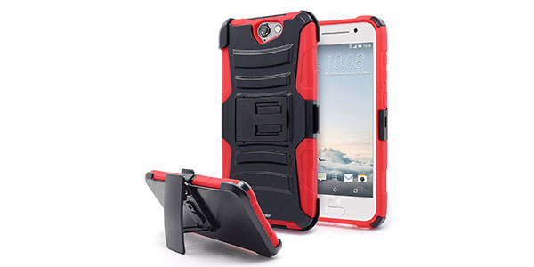 5.-Nagebee---HTC-One-A9-Heavy-Duty-Hybrid-Armor-Dual-Layer-Rhino-Kickstand-Belt-Clip-Holster-Combo-Rugged-Case