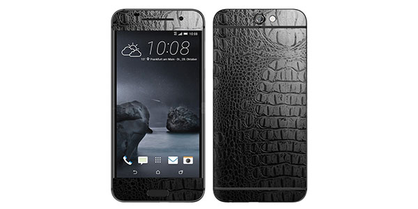8.-Decalrus---HTC-One-A9-Black-Crocodile-Skin-Textured-skin-Carbon-Fiber-skins-decal-for-case-cover-wrap