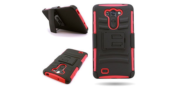 3-Nagebee---High-Impact-Resistant-Black-Dual-Layer-Armor-Holster-With-Locking-Belt-Clip-Defender-Full-Body-Protective-Hybrid-Armor-Case